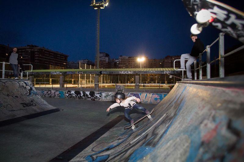 El ayuntamiento apuesta por impulsar el skate con la remodelación de la instalación deportiva de Vía Hispanidad