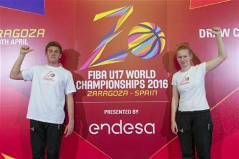 Celebrado el sorteo del Mundial U17 de Baloncesto