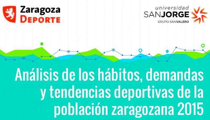 Avance del Estudio «Análisis de los hábitos, demandas y tendencias deportivas de la población zaragozana 2015»