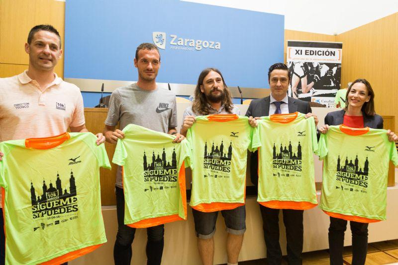 Zaragoza se prepara para la undécima CaixaBank 10K