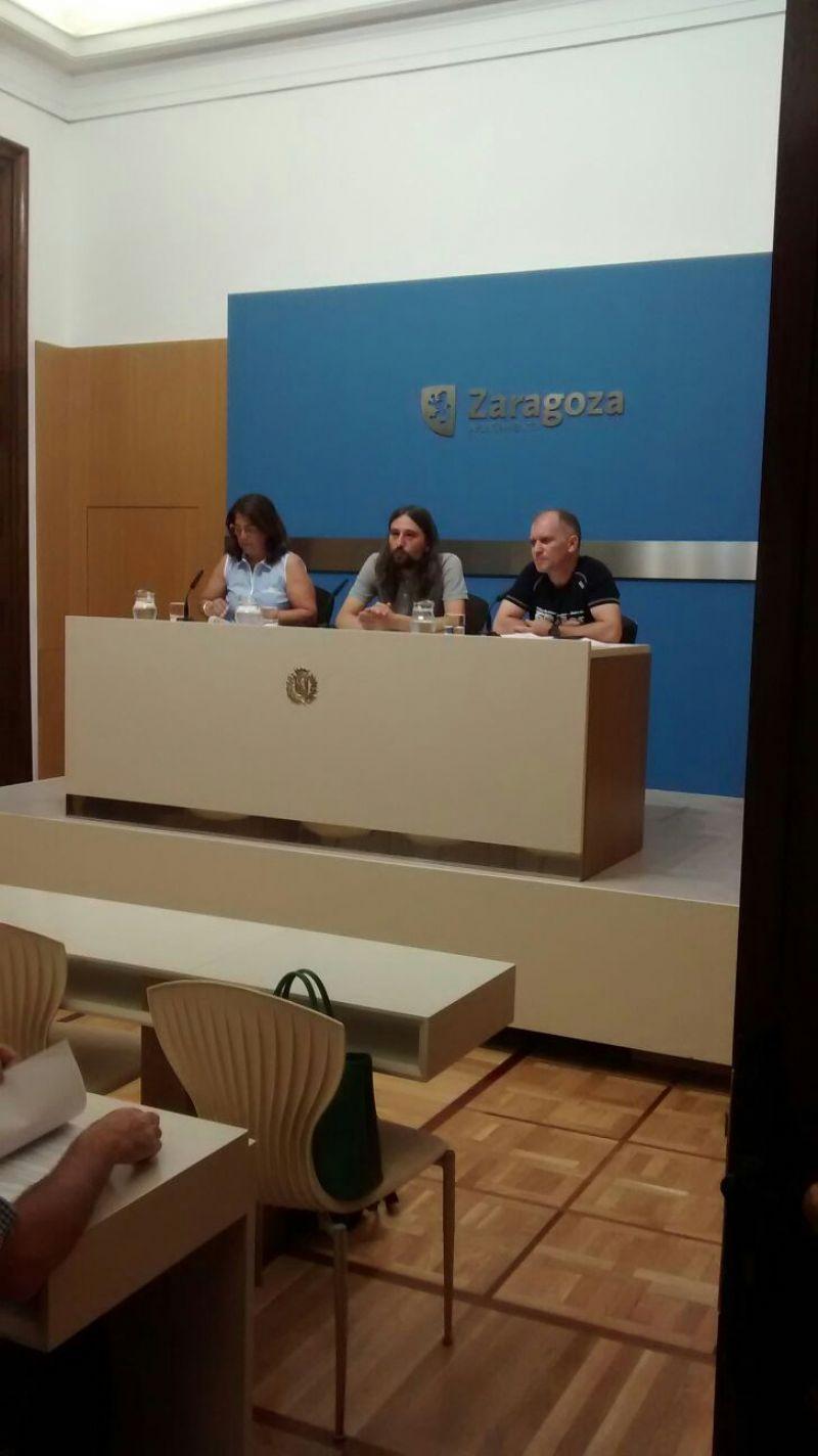 Presentación del II Triatlón «Ibercaja-Ciudad de  Zaragoza»