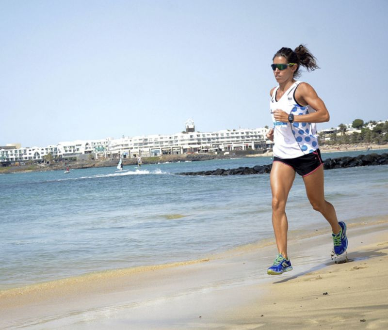 Los beneficios de correr en la playa