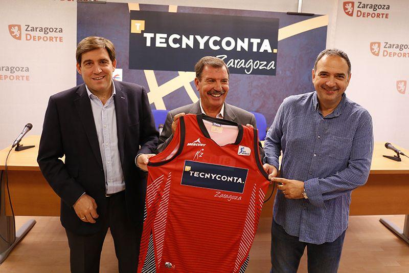 Tecnyconta se incorpora como patrocinador principal del Basket Zaragoza