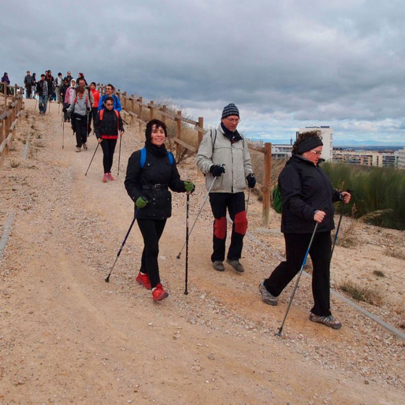 Los beneficios para la salud de la marcha Nórdica