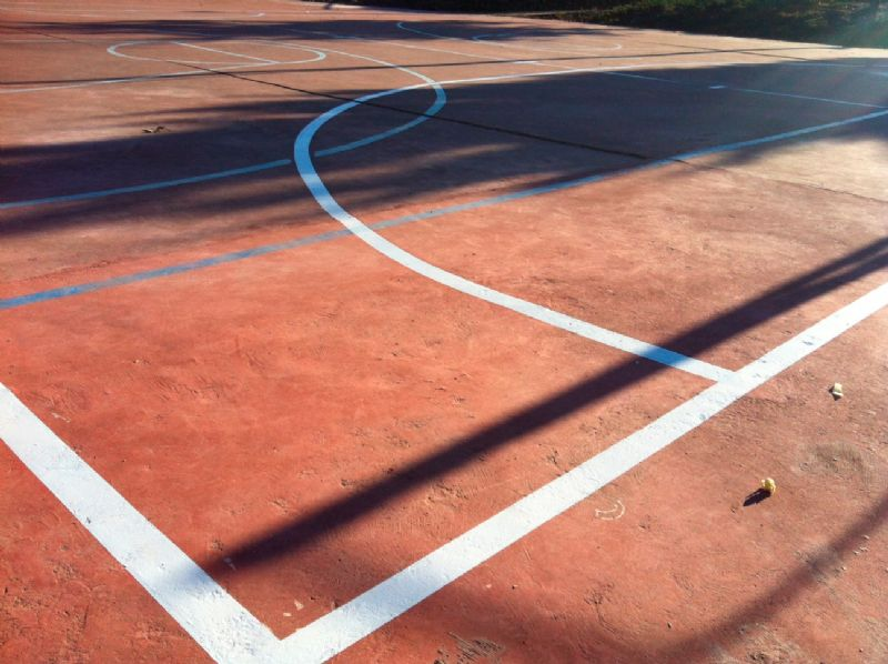 Mejoras realizadas en la tercera semana de noviembre en varias Instalaciones Deportivas Elementales