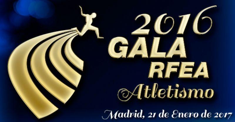 El atletismo zaragozano, premiado en la Gala de la RFEA 2016
