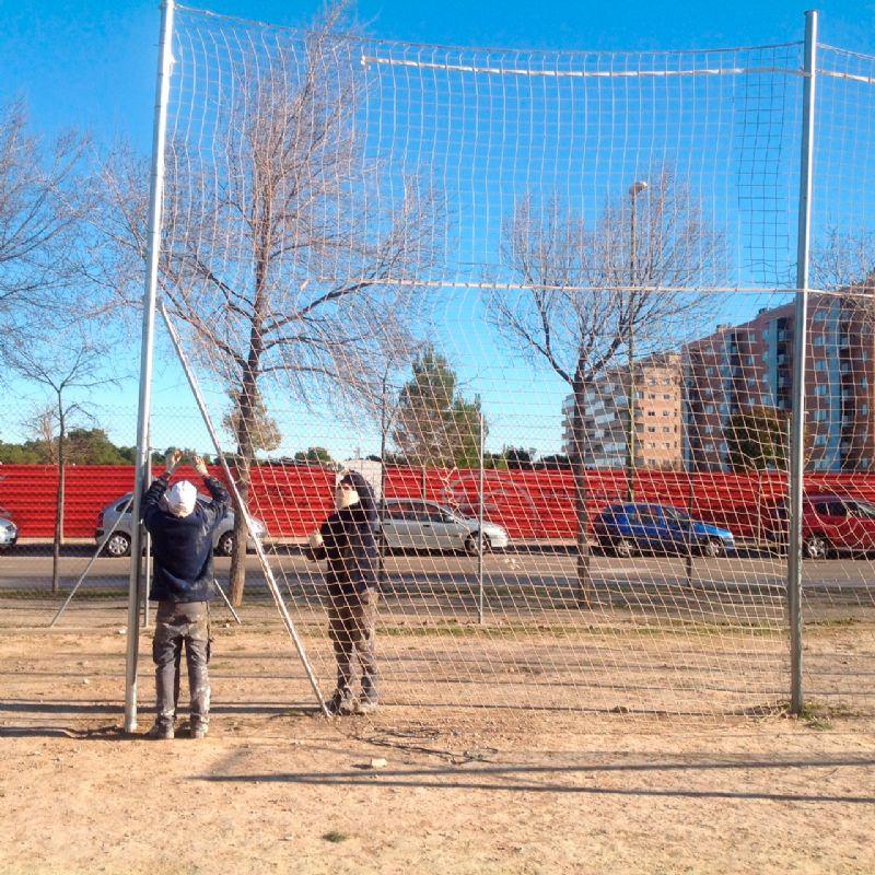 Mejoras realizadas en la segunda semana de enero en varias Instalaciones Deportivas Elementales