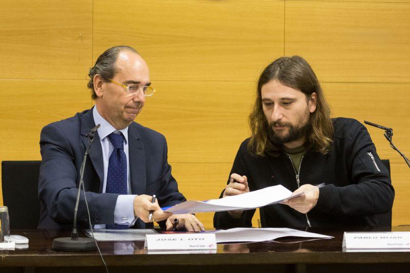 Zaragoza Deporte e Ibercaja renuevan su colaboración en los Trofeos Ciudad de Zaragoza