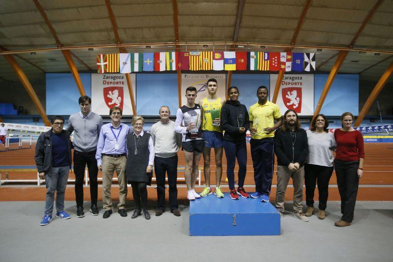 El Trofeo «Ibercaja-Ciudad de Zaragoza» de Atletismo en Pista Cubierta dejó dos mínimas europeas, varias nacionales y cuatro mejores marcas españolas