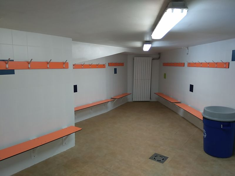 Finalizados los trabajos de reforma de vestuarios y duchas de las piscinas del Palacio de Deportes