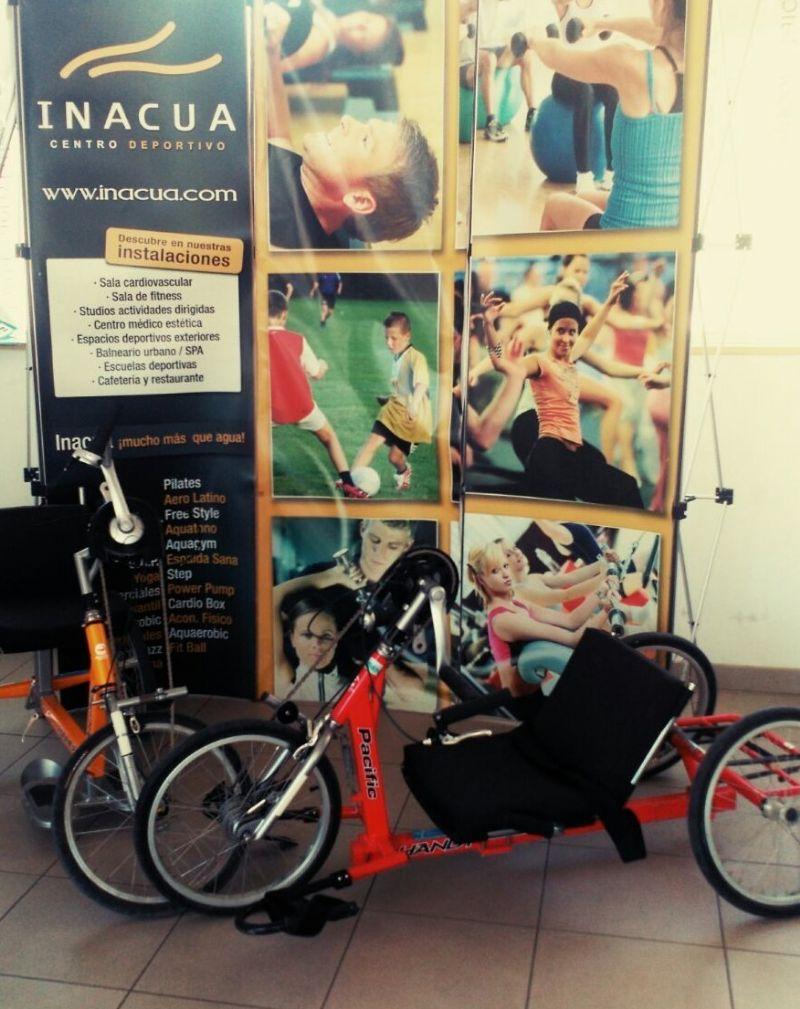 Cesión de bicis adaptadas «Hand-Bike» para paseos
