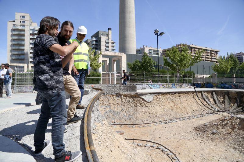 El nuevo Skate Park de Vía Hispanidad estará listo a comienzos de julio