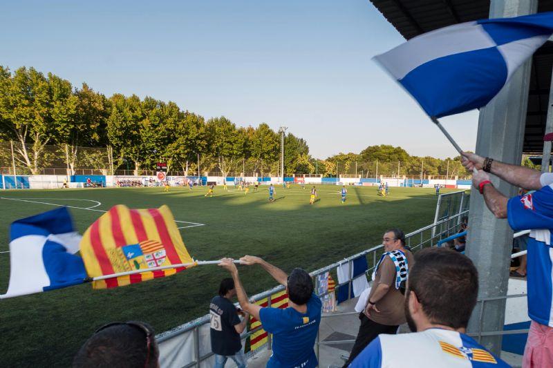 Nuevo césped para el Campo Municipal de Fútbol La Almozara-El Carmen