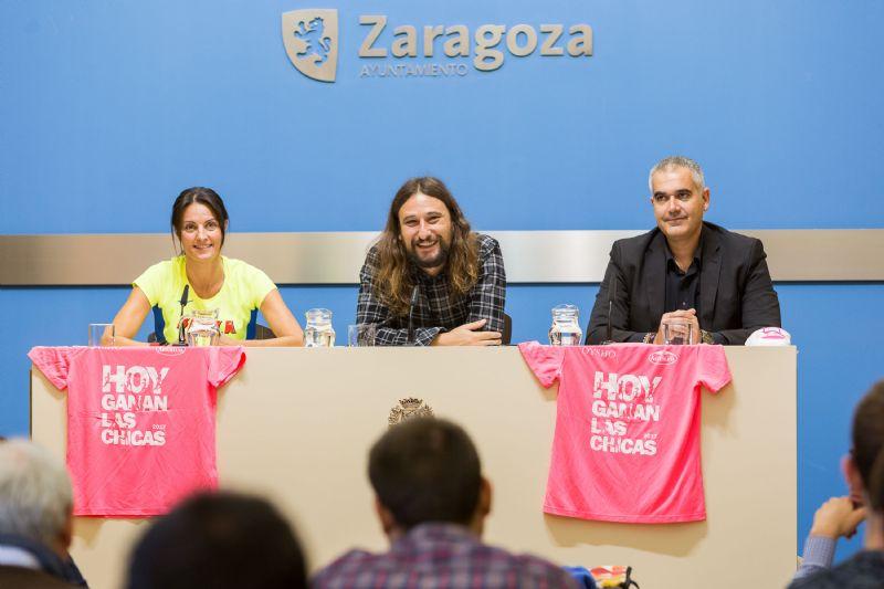 Una Marea Rosa de récord vuelve a recorrer Zaragoza este domingo