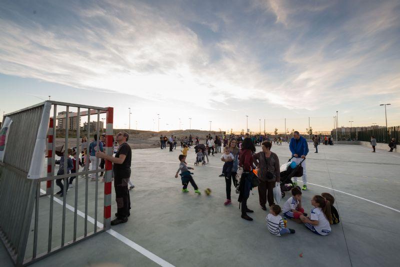 Nueva Instalación Deportiva Elemental  en el barrio Arcosur de Zaragoza