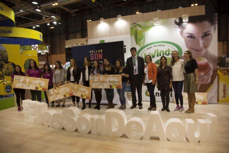 Ganadoras del proyecto #EllasSonDeAqui