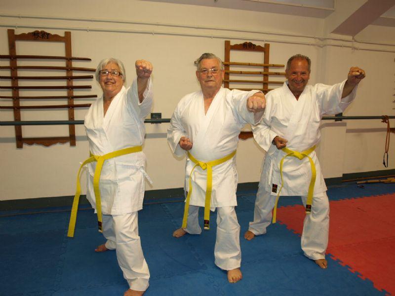 Clase gratuita de Kárate para mayores de 60 años