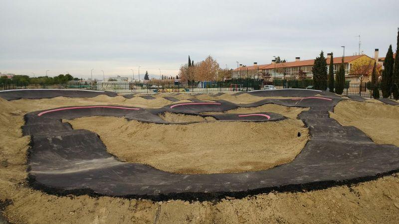 Inauguración de la nueva pista de Pump-Track en Parque Goya