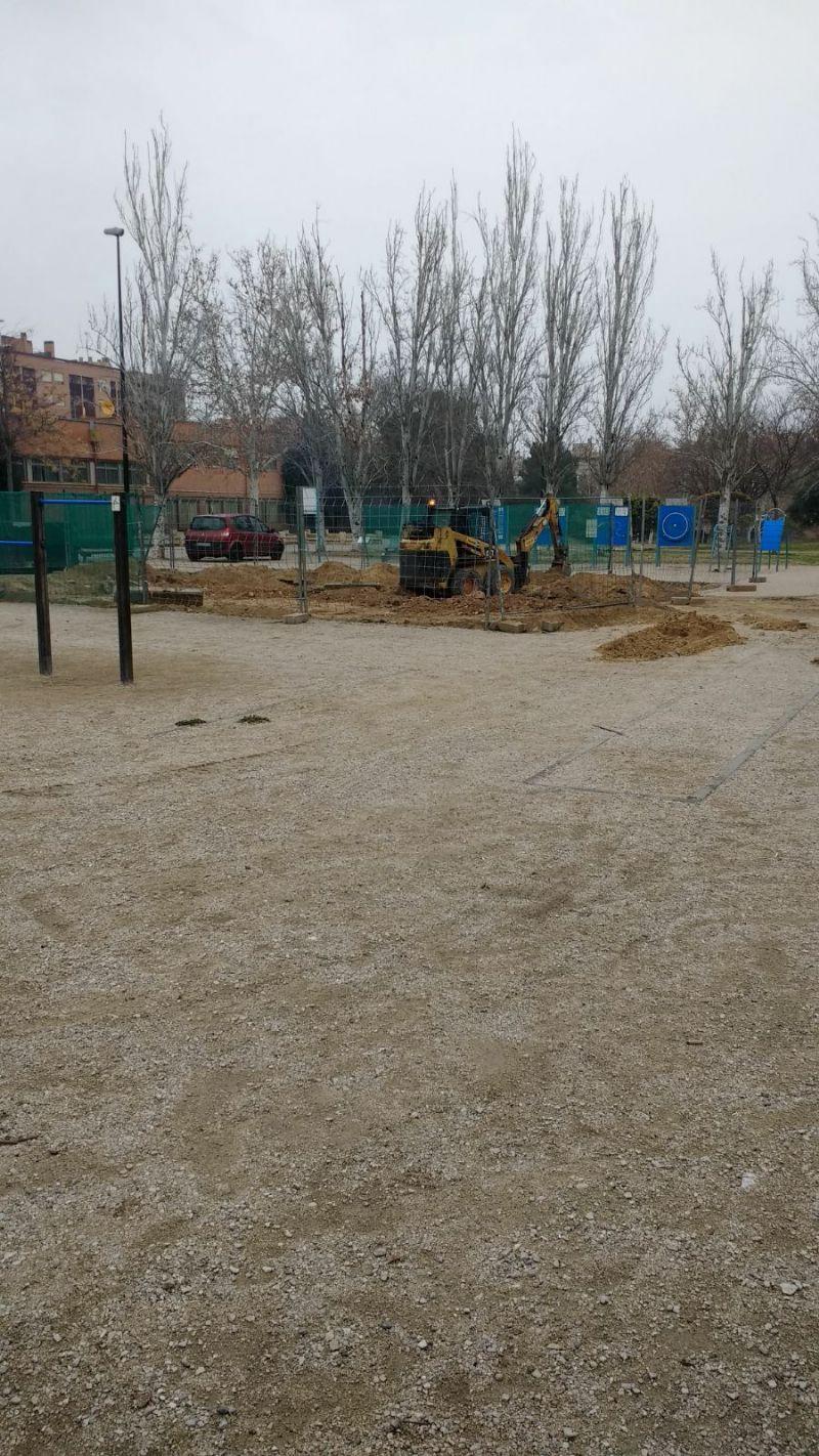 Comienzan las obras de la nueva IDE Street Workout del Parque Torre Ramona