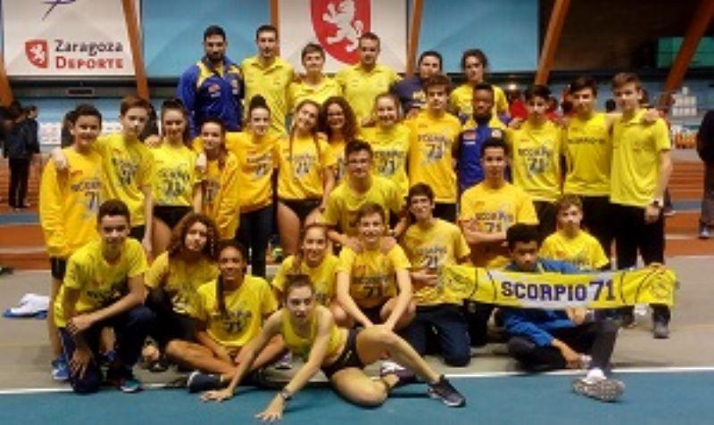 Playas de Castellón en hombres y A.D.Marathon en mujeres, campeones en la Copa de Clubes Sub16 en Zaragoza