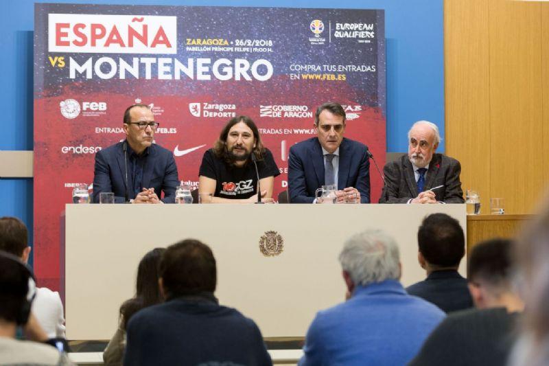 Zaragoza se prepara para recibir a la selección española de baloncesto
