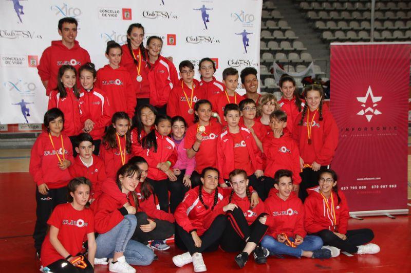Aragón, primer clasificado en el medallero del Campeonato de España de Patinaje en conos - Freestyle