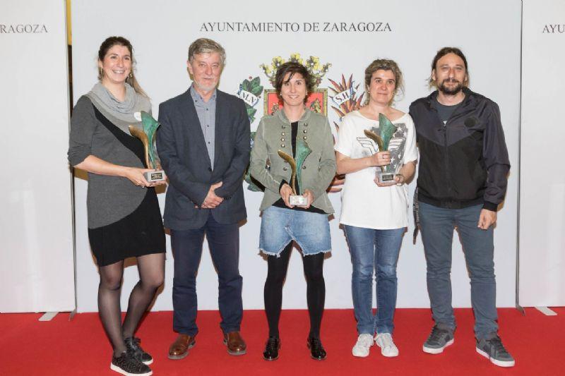 El Ayuntamiento entrega los Premios Zaragoza, Mujer y Deporte