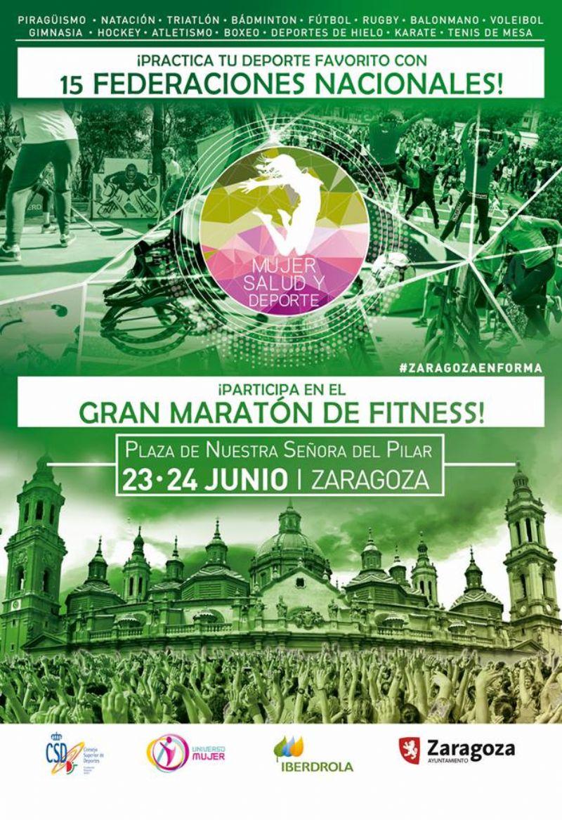 El deporte femenino, protagonista en la Plaza del Pilar los días 23 y 24 de junio