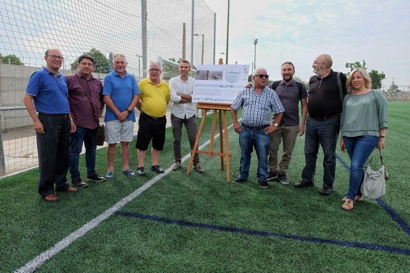 Zaragoza Deporte aprueba una inversión de 892 mil euros para construir un nuevo edificio de vestuarios en el Campo Municipal de Fútbol Fleta