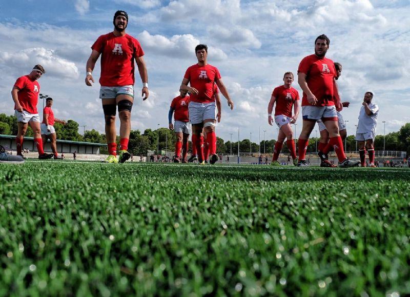 El campo de rugby del CDM David Cañada incrementará sus usos un 30% con el nuevo césped artificial