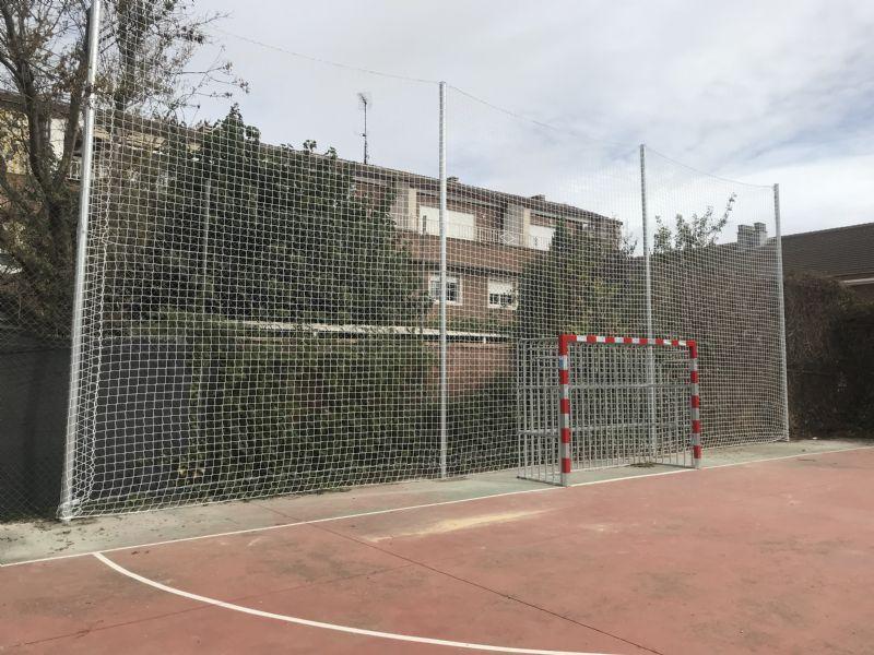 Mejoras en la red de instalaciones deportivas elementales (potreros) durante octubre de 2018.