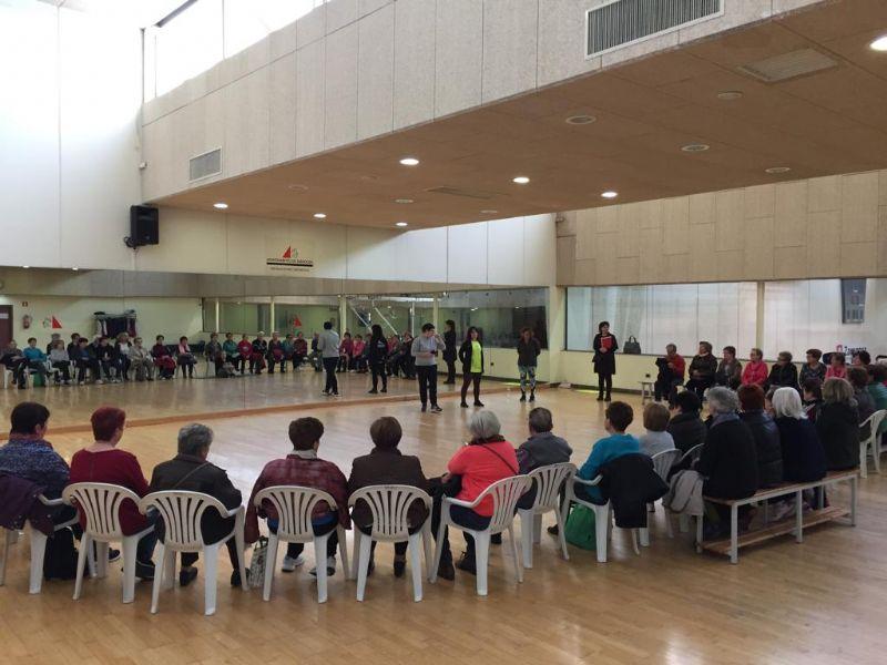 Celebrado un nuevo taller de prevención de caídas para mayores de 67 años