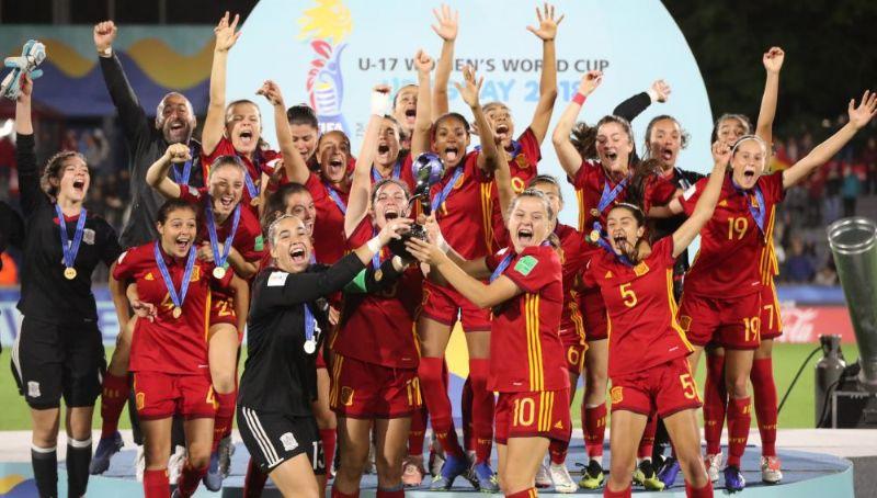 La aragonesa Salma Paralluelo, campeona del mundo de fútbol femenino sub-17