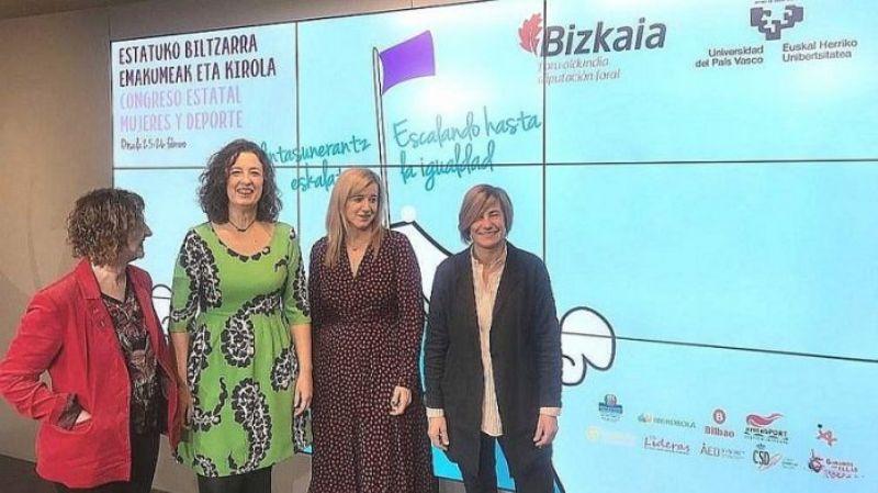 El II Congreso Estatal Mujeres y Deporte analizará en Bilbao los últimos avances y retos de futuro en participación e igualdad