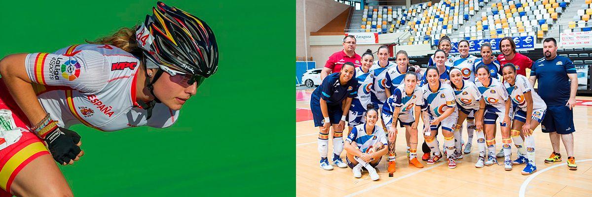 Nerea Langa y la A.D. Sala Zaragoza, Premios «Zaragoza, Mujer y Deporte 2018»