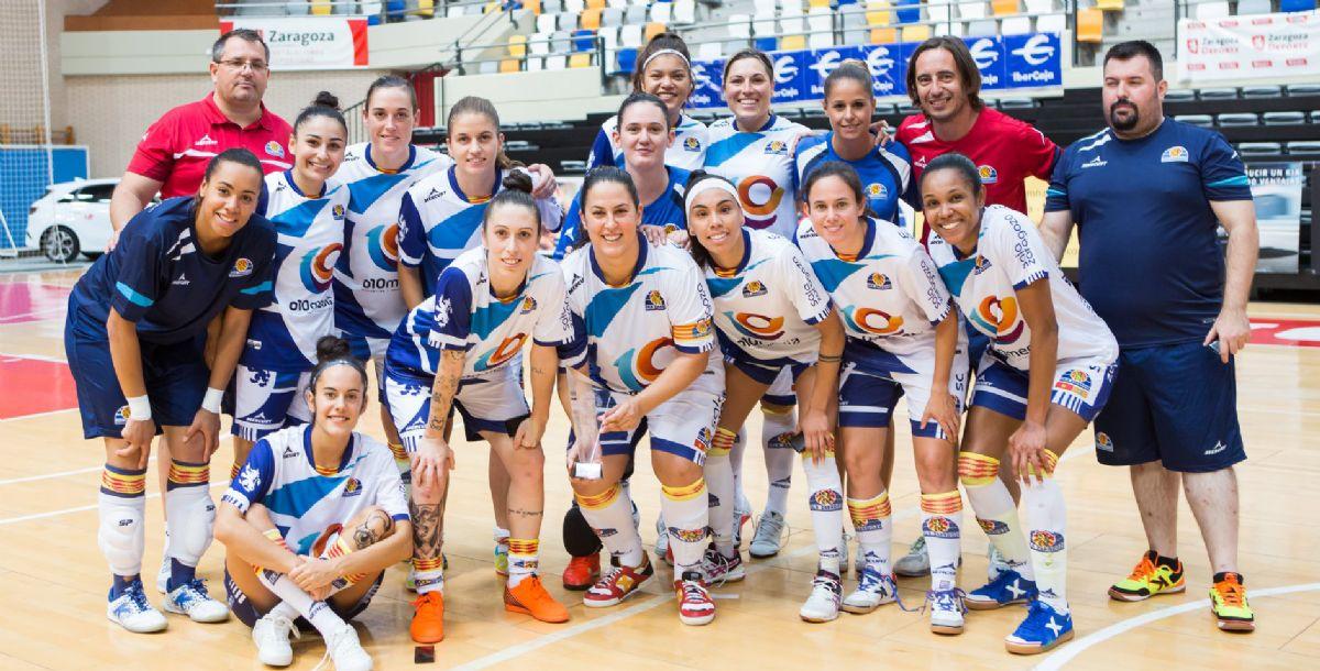La A.D. Sala Zaragoza de fútbol sala e5c05c5062f97
