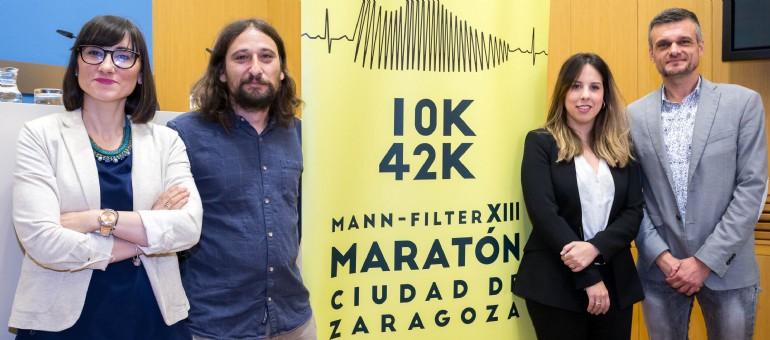 El XIII Maratón Ciudad de Zaragoza bate récord con 3.778 participantes entre las dos pruebas de 42K y 10K