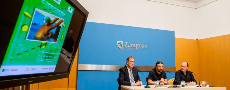 El Trofeo «Ibercaja-Ciudad de Zaragoza» de Natación reúne a deportistas de alto nivel internacional