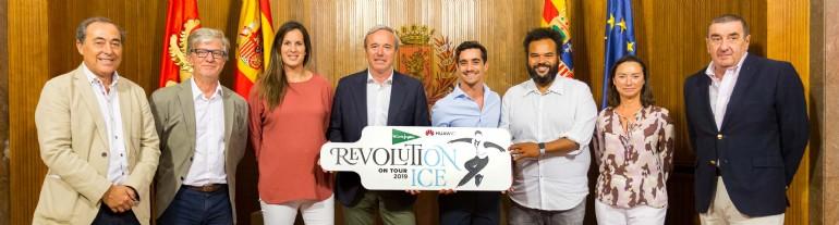 «REVOLUTION ON ICE», el espectáculo protagonizado por el campeón del mundo de patinaje Javier Fernández, llega a Zaragoza el 16 de noviembre