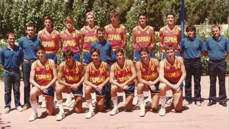 La selección juvenil de baloncesto que logró la plata europea en 1985 se reencontrará en Zaragoza