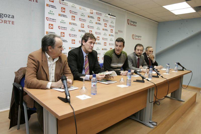 Se presenta el Trofeo CAI «Ciudad de Zaragoza» de Fútbol Base, que se celebrará los días 9,10,11 y 12 de abril