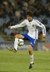 Los dos zaragocistas, Ander y Laguardia, con la selección sub-20