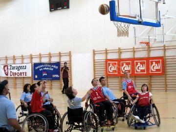 Vuelven los Juegos Escolares con el baloncesto en silla de ruedas