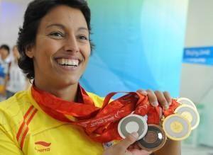 La deportista zaragozana Teresa Perales, ganadora de cinco medallas en los Juegos Paralímpicos de Pekín, ha sido nominada a los Premios Laureus 2009, que reconocen el mérito deportivo demostrado a lo