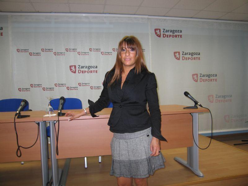 Sheila Herrero en Zaragoza Deporte