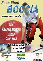 Aragón acoge por primera vez una competición de Boccia