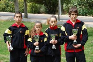 La Federación Aragonesa de Karate ha obtenido 4 medallas de bronce