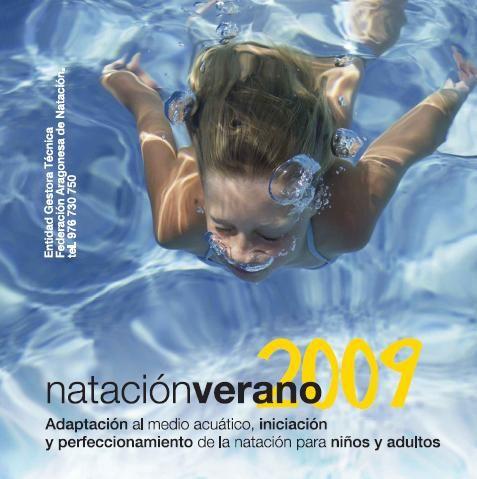 Ya puedes consultar el folleto y las novedades de Natación Verano 2009 del programa «Entra en Acción»