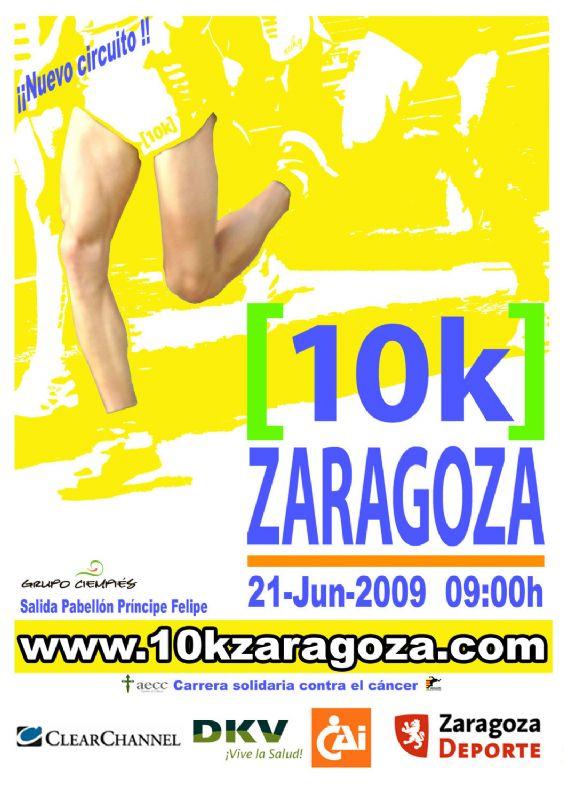 Ya está abierto el proceso de inscripción de la «10k Zaragoza»