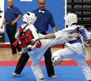 El pabellón Siglo XXI es el escenario el sábado del II Campeonato de España infantil de la escuela de Kyokushin